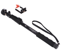 Heavy Duty Selfie Stick With Bluetooth Remote